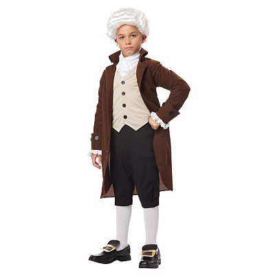 Colonial Man Child Costume