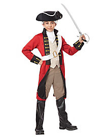 Kids British Redcoat Costume