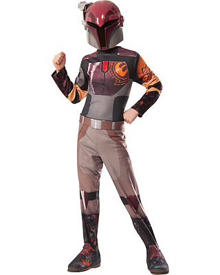 Click Here to buy Star Wars Sabine Kids Costume from Spirit Halloween