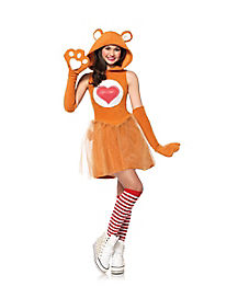 Teen Tenderheart Bear Costume - Care Bear