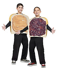 Kids Group Peanut Butter and Jelly Costume
