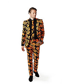 Pumpking Adult Mens Party Suit