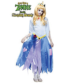 Kids Zombie Sleeping Beauty Costume - Once Upon A Zombie