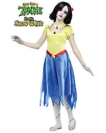 Once Upon A Zombie Snow White Child Costume