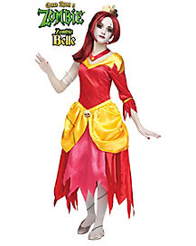 Kids Zombie Belle Costume - Once Upon A Zombie