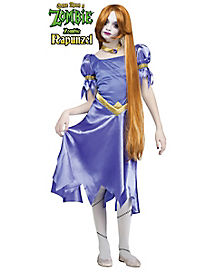 Once Upon A Zombie Rapunzel Child Costume