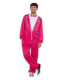 The Flamingo Traxedo Adult Mens Costume