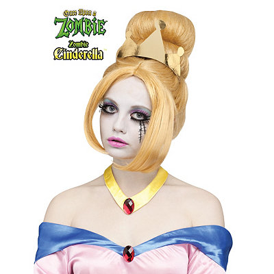 Once Upon a Zombie Cinderella Wig