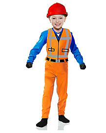 Kids The Builder Costume