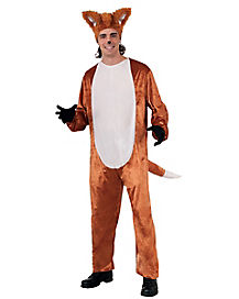 Adult Fox One Piece Costume