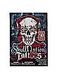 Skull Nation Tribal Temporary Tattoos