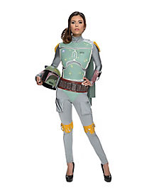 Adult Boba Fett Jumpsuit One Piece Costume - Star Wars