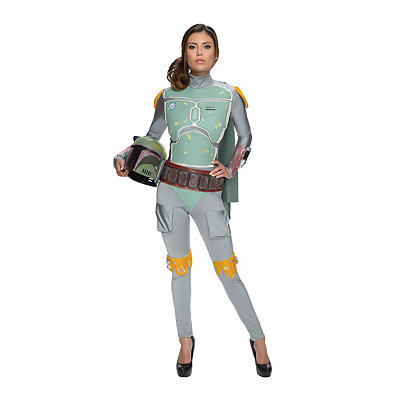 Star Wars Boba Fett Jumpsuit Adult Womens Costume