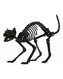 1.5 Ft Black Skeleton Cat - Decorations