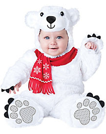 Baby Lil' Polar Bear One Piece Costume