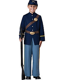 Kids Civil War Soldier Costume