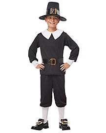Kids Pilgrim Boy Costume