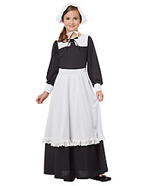 Pilgrim Girl Child Costume