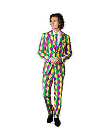 Adult Mardi Gras Party Suit