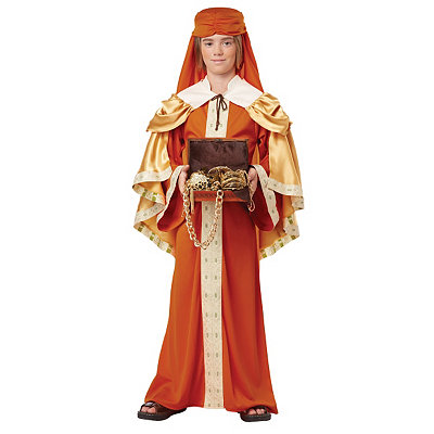 Kids Gaspar of India Costume
