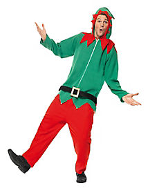 Adult Hooded Elf Costume