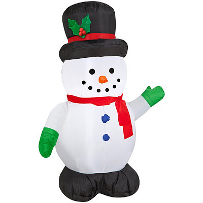 42'' Snowman Outdoor Airblown Inflatable