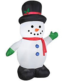 5 Ft Snowman Inflatable
