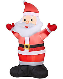 4 Ft Santa Inflatable - Decoration