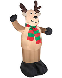 4 Ft Reindeer Inflatable - Decoration