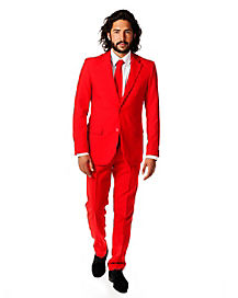 Red Devil Men's Party Suit