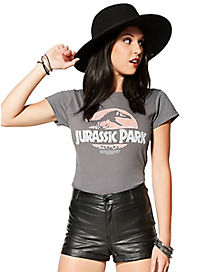 Faded Logo Jurassic Park T shirt