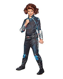 Kids Black Widow Costume Deluxe - Avengers 2