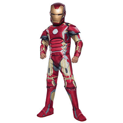 Avengers 2 Deluxe Iron Man Child Costume