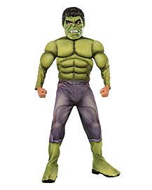 Avengers 2 Deluxe Hulk Child Costume