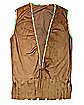 Male Fringed Suede Hippie Vest