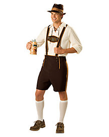 Adult Feathered Bavarian Guy Costume
