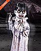 3 ft Walking Zombie Girl Animatronics - Decorations