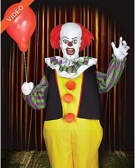 6 ft pennywise clown animatronics decorations it for Clown dekoration