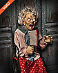 3 Ft Wheelchair Granny Animatronics - Decorations