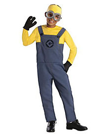 Kids Dave Minion One Piece Costume - Despicable Me