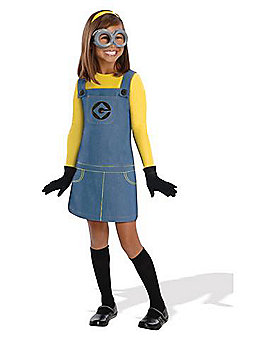 Kids Minions Costume - Despicable Me 2