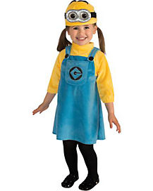 RB GIRL MINION 2-4T