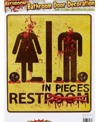 Bathroom Sign Halloween boos in the loo: bathroom halloween decor - haunt jaunts halloween