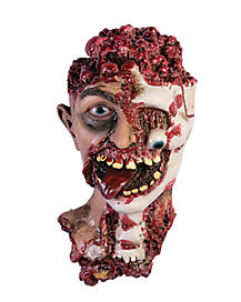 Rotten Zombie Head - Decorations