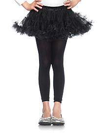 Girls Black Petticoat