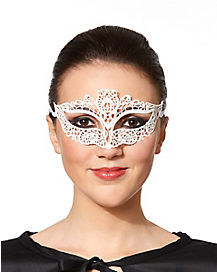 Embroidered Lace Eye Mask