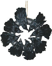 Crow Wreath - Decorations