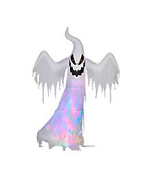 9 Ft Fire and Ice Ghost Inflatable - Decorations
