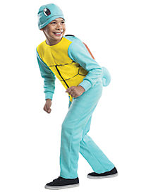 Kids Squirtle Jumpsuit Costume - Pokemon