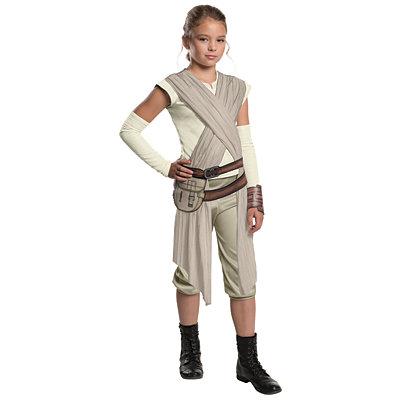 Star Wars Episode VII Force Awakens Rey Deluxe Girls Costume